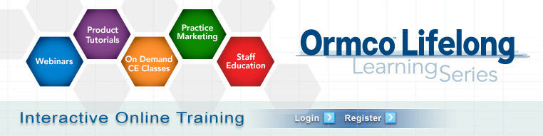 Ormco Professional Learning