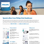 Q3 Special Offers from Philips Oral Healthcare